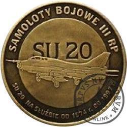 2 polskie skrzydła / SU 20 (mosiądz oksydowany)