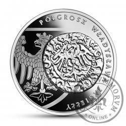 20 złotych - półgrosz Władysława Jagiełły