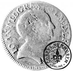 szóstak koronny - 1680 w otoku