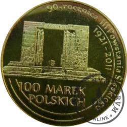 100 marek polskich - 90. ROCZNICA III POWSTANIA ŚLĄSKIEGO / WOJ. OPOLSKIE