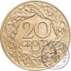 20 groszy - nikiel PRÓBA