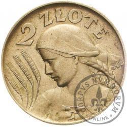 2 złote - Ag st. zw.