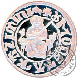 kwartnik Kazimierza Wielkiego - replika Ag