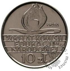 10 złotych - 200 lat KEN - kaganek
