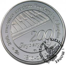 200 fryderyków (Ag z tampondrukiem)