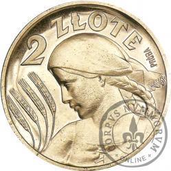 2 złote - Ag PRÓBA st. L