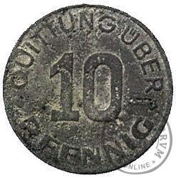 10 fenigów - typ mały