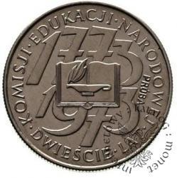10 złotych - 200 lat KEN - książka i kaganek
