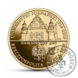 200 złotych - 100-lecie utworzenia Uniwersytetu Poznańskiego