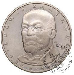100 złotych -Ludwik Zamenhof