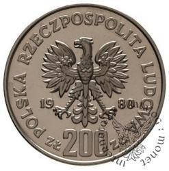 200 złotych - Chrobry półpostać