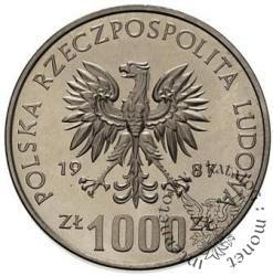 1000 złotych - łuczniczka
