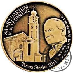 Sanktuarium Matki Bożej Fatimskiej w Turzy Śląskiej / Śląska Fatima (mosiądz)