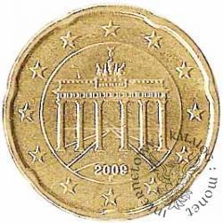 20 euro centów (F)