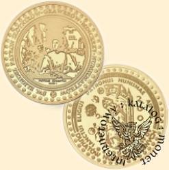 1000 miedziaków numizmatycznych (Au. 900) - św. Eligiusz