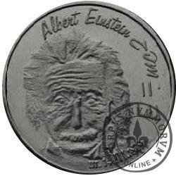 RYBY - Albert Einstein (srebro Ag.925 oksydowane)