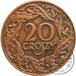 20 groszy - brąz