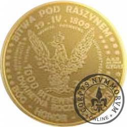 1000 bitewnych / Raszyn (złoto Au.585)