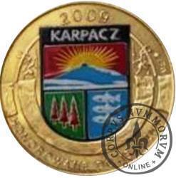 4 talary karkonoskie - Karpacz (II emisja - mosiądz z tampondrukiem)