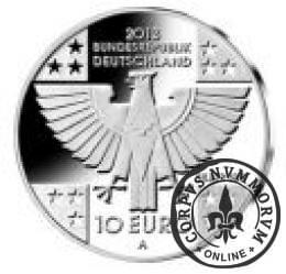 10 euro -  150 lat Czerwonego Krzyża