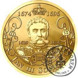Jan III Sobieski (mosiądz pozłacany)
