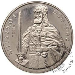 50 złotych - Mieszko I półpostać