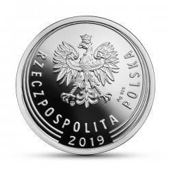1 złoty - srebro