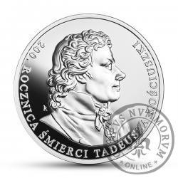10 złotych - 200. rocznica śmierci Tadeusza Kościuszki