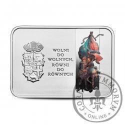 20 złotych -  450. rocznica Unii Lubelskiej