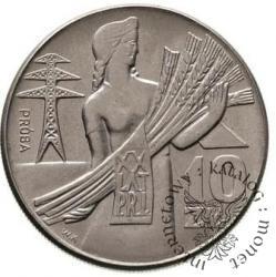 10 złotych - kobieta, orzeł i daty