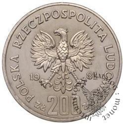 200 złotych - Bolesław Śmiały półpostać