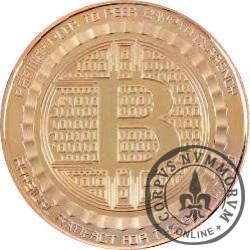 Bitcoin (BTC) - ANONYMOUS MINT / miedź (Cu)