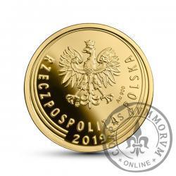 2 grosze - złoto