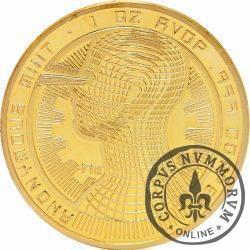 Bitcoin (BTC) - ANONYMOUS MINT / (miedź pozłacana)
