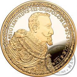 100 dukatów Zygmunta III Wazy - replika duża