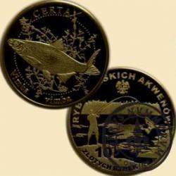 10 złotych rybek (mosiądz patynowany) - XXI emisja / CERTA