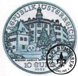 10 euro - Zamek Ambras w Insbruku