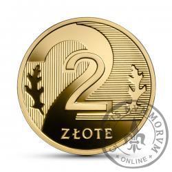 2 złote - złoto
