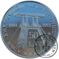 Jubileusz 50-lecia Kopalni Szczygłowice (stal szlachetna)