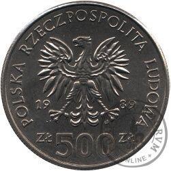 500 złotych - 50 rocznica wojny obronnej narodu polskiego