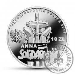 10 złotych - 90. rocznica urodzin Anny Walentynowicz