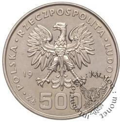 500 złotych - Kościuszko - profil