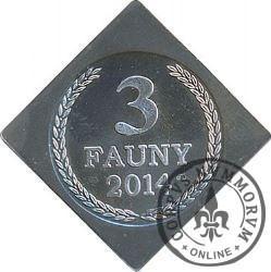 3 fauny (srebro - klipa)