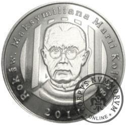 2011 Rok Św. Maksymiliana Marii Kolbe (alpaka)