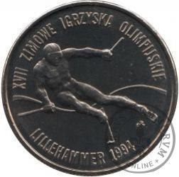 20 000 złotych - XVII Zimowe Igrzyska Olimpijskie Lillehammer 1994