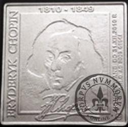 500 chopinów / Fryderyk Chopin (klipa - aluminium)