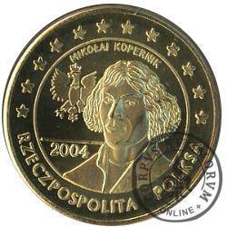 50 cent (mosiądz - typ II)