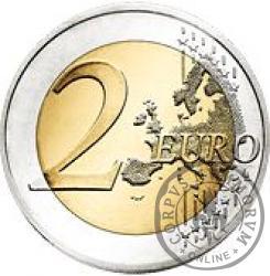 2 euro - Dziesięciolecie banknotów i monet euro