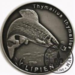 10 złotych rybek (alpaka oksydowana) - XV emisja / LIPIEŃ