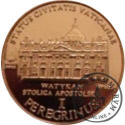 1 peregrinus / JAN PAWEŁ II - emisja II (stal miedziowana)